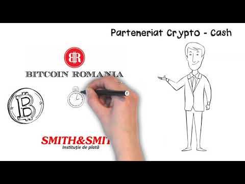 Parteneriat Bitcoin Romania-Smith&Smith- Tranzactii Cash Sigure Si Rapide