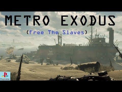 Metro Exodus Caspian Desert Slave Ship Side Mission 1 2 Youtube