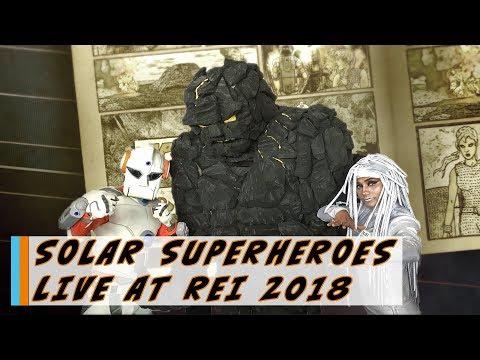 Solar Superheroes – LIVE at Renewable Energy India Expo 2017