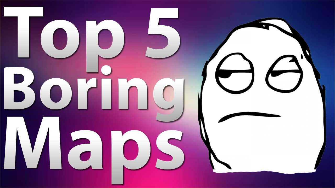 \'TOP 5\' Boring Maps in Call of Duty Zombies - Black Ops 2 Zombies, Black  Ops & World at War