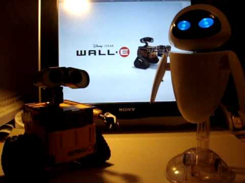 InterAction WALL-E and Eve