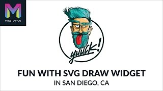 Fun with SVG Draw Widget in San Diego, CA | Adobe Muse CC | Muse For You