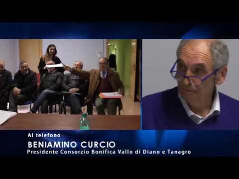 """Consorzio di Bonifica, Curcio conferma: """"C'è un problema politico"""". E sulla lettera aperta dei Delegati: """"Il loro disappunto c'è perché non possono percepire l'indennità""""."""