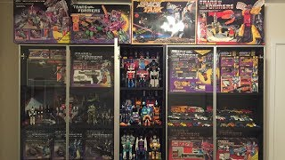 Transformers Collection Room - IKEA Billy Bookcase Display