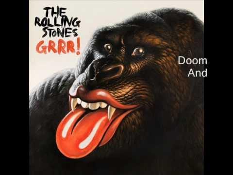 Rolling Stones - Doom And Gloom (lyrics)