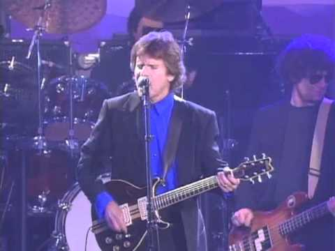 """John Fogerty Performs """"Green River"""" at the 1993 Hall of Fame Inductions"""