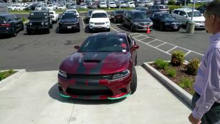 My 2017 Dodge Charger Hellcat Exiting the Showroom