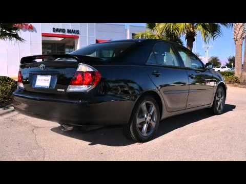 2005 toyota camry se v6 in sanford fl 32771 youtube. Black Bedroom Furniture Sets. Home Design Ideas