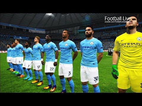 Manchester City vs Shakhtar Donetsk   UEFA Champions League 2017/2018   PES 2017 Gameplay PC