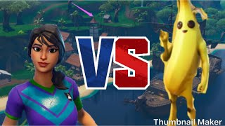 Fortnite Banana Vs Sweaty Soccer Skin #FortniteMontage
