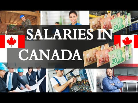 Average Salaries In Canada .