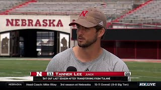 BTN Bus Tour: Nebraska's Tanner Lee