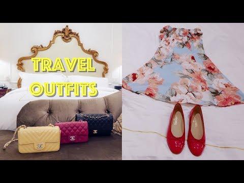 (中文English Subs) ❤️ Elaine Hau - 我帶咩衫褲鞋包包去旅行?! 👗Travel Outfits 👠