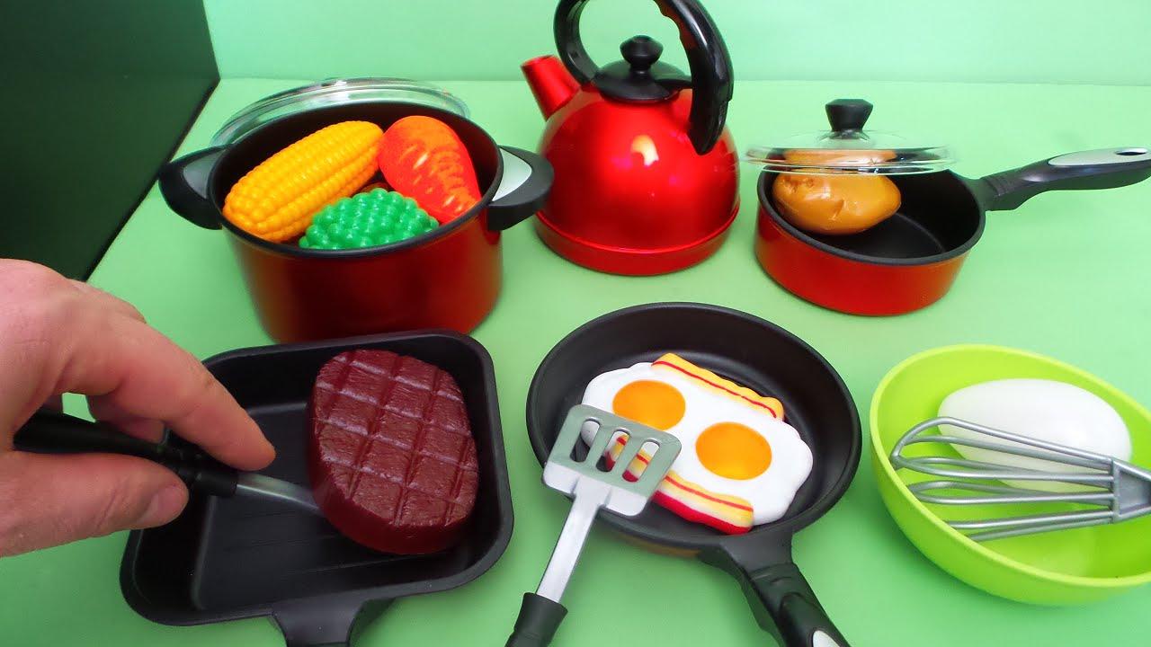 Speelgoed Keuken Maken : Speelgoed keuken kookset uitpakken ~ Unboxing Toy kitchen cooking set
