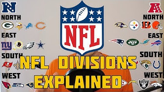 NFL Divisions Explained! American Football Basics