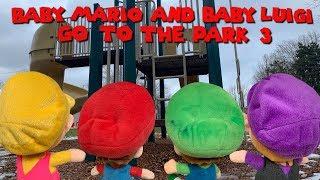 Baby Mario and Baby Luigi go to the Park 3