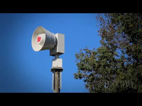 Federal Signal 2001-130, Alert: Henderson, KY (Henderson Co. Tornado Siren Test, HD)
