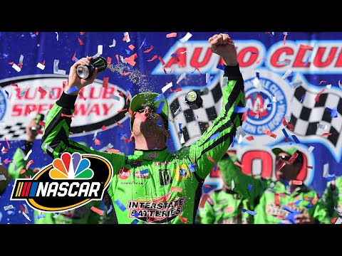 NASCAR Auto Club 400 at Fontana | EXTENDED HIGHLIGHTS | 3/17/19 | Motorsports on NBC