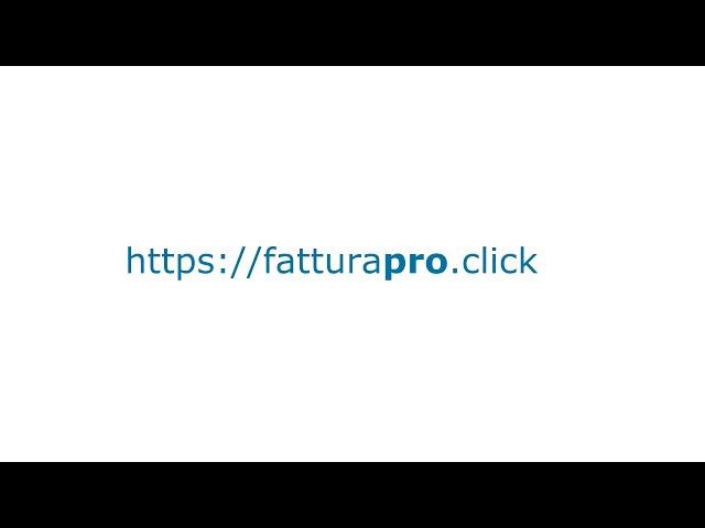 Dal Preventivo alla Fattura Elettronica con un Click   FatturaPRO.click