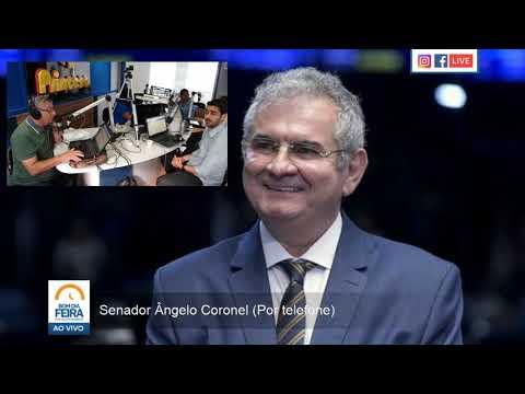 Ângelo Coronel afirma pré-candidatura da esposa à prefeitura de Salvador
