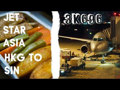 Jetstar Asia 3K696 : Flying from Hong Kong to Singapore