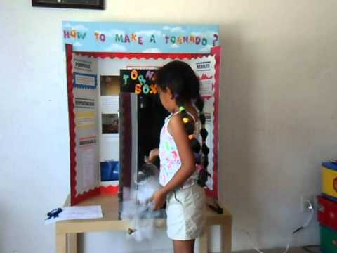 Science Fair Project: Tornadoes