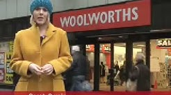 Woolworths Glasgow store closes - last day of trading
