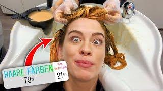 Omg.. Ihr bestimmt meine neue Haarfarbe | 24H bestimmt Instagram | Vlog