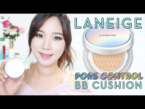 NEW Laneige BB Cushion Pore Control Review // Korean Cushion Review | Liah Yoo ❤