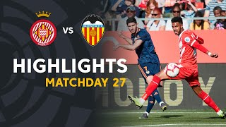 Highlights Girona FC vs Valencia CF (2-3)