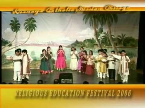 Religious Education Festival 2006 Part 1 of 3. Chicago Knanaya Catholic Church