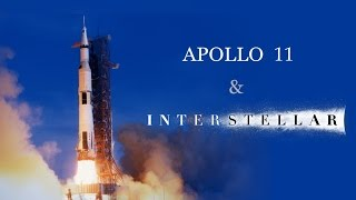 Interstellar Soundtrack with Apollo 11 launch