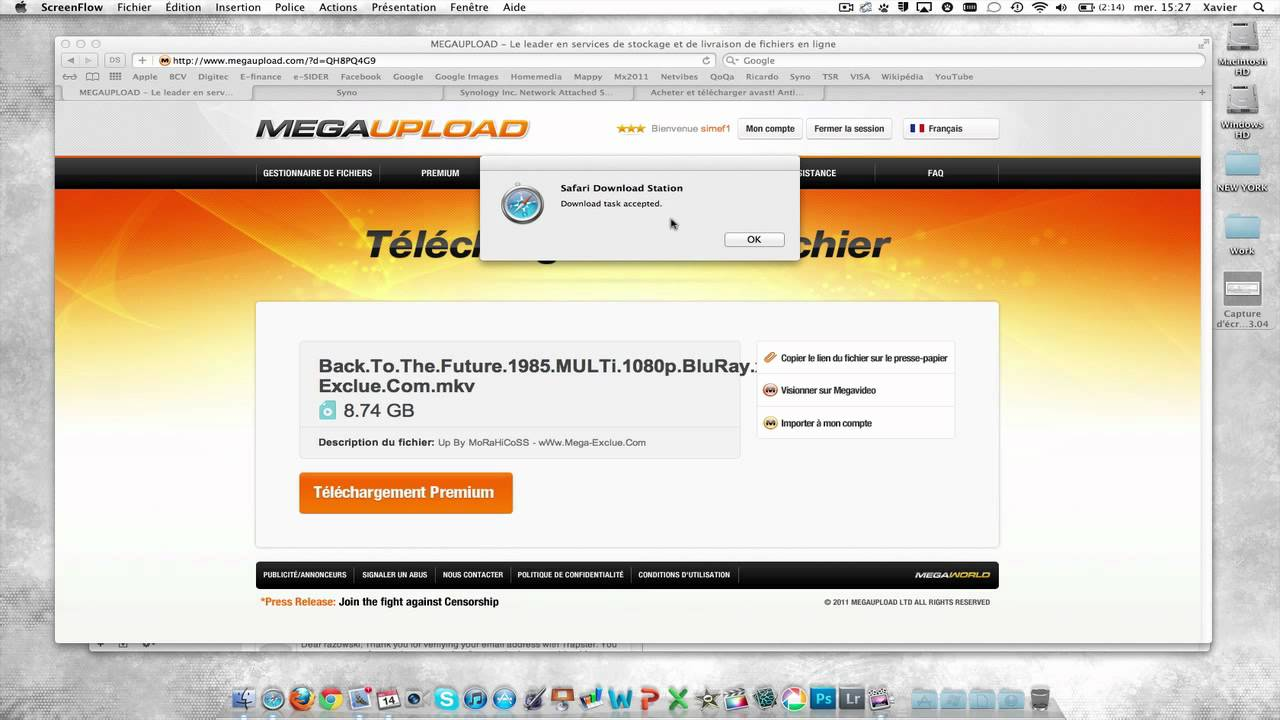Synology - Download Station - Plugin Safari