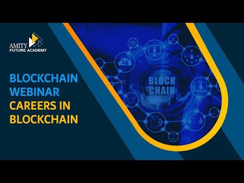 Blockchain Webinar LIVE - Careers in Blockchain - Careers of Tomorrow