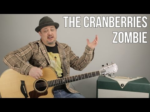 """How to Play """"Zombie"""" by The Cranberries on Guitar (Easy Acoustic)"""