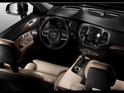 New Volvo XC90 SUV Interior