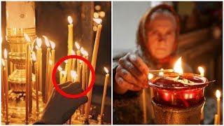 как вести себя в церкви, чтобы не стать жертвой  колдунов. Как ставить свечу