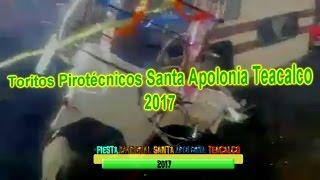 Toritos Pirotécnicos Santa Apolonia Teacalco 2017
