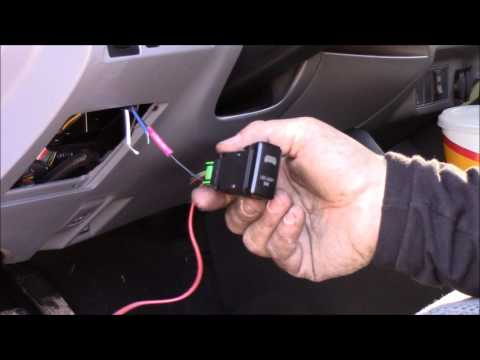 Using Factory Toyota Switch to Find Power