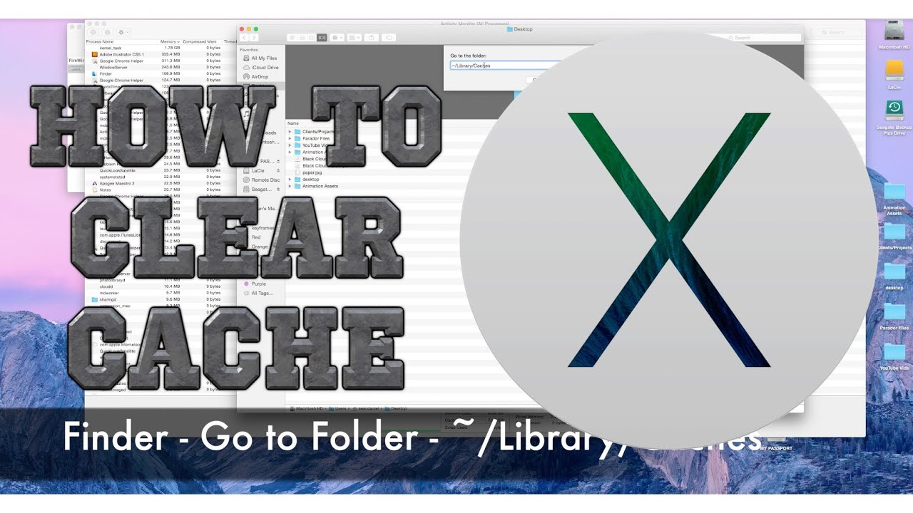 How To Clear Cache On A Mac 20161231