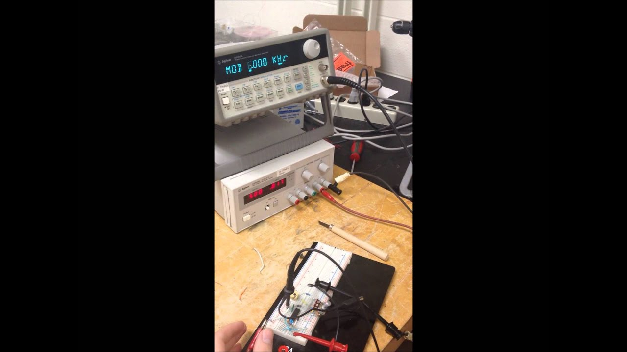 Fm Demodulation Using Pll Youtube Demodulator Circuit Schematic Diagram