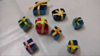 How To Make Gift Boxes With Paper Quilling-DIY