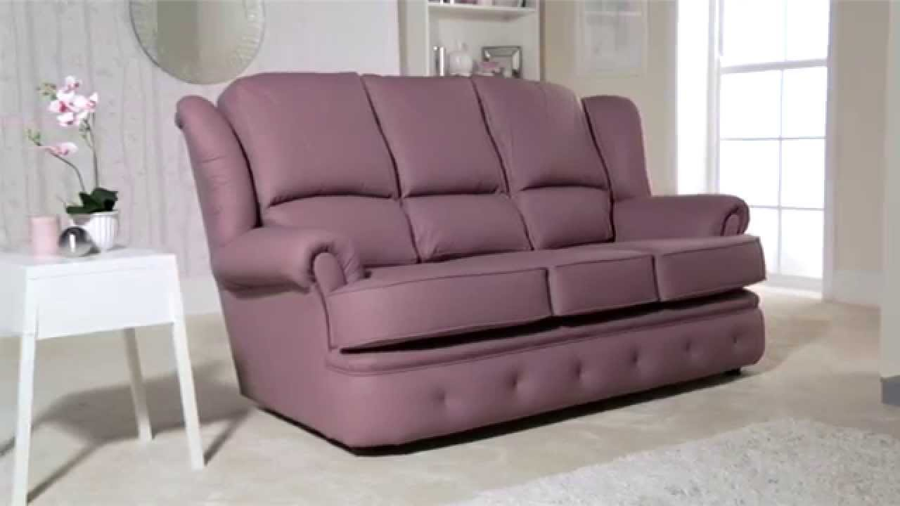kendal sofa from sofas by saxon youtube. Black Bedroom Furniture Sets. Home Design Ideas