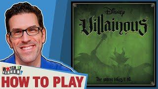 Villainous (disney)   How To Play
