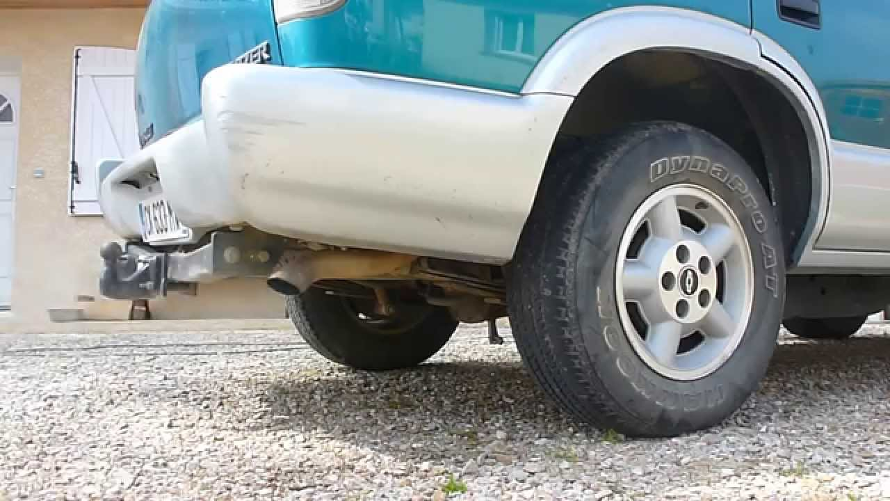 1995 chevy blazer 4 3 v6 exhaust