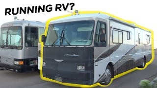 RUNNING RV?! - 40ft Class A | Turbo 8.3 cummins diesel pusher | Tour