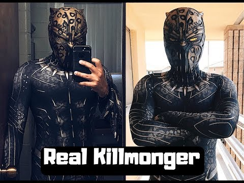 Real Killmonger Costume