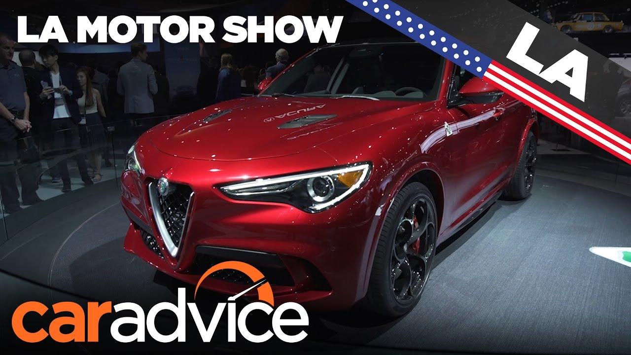 Alfa Romeo Los Angeles >> 2017 Alfa Romeo Stelvio 2016 Los Angeles Motor Show Youtube