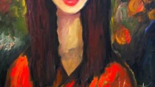 Женские портреты. Любовное настроение в живописи