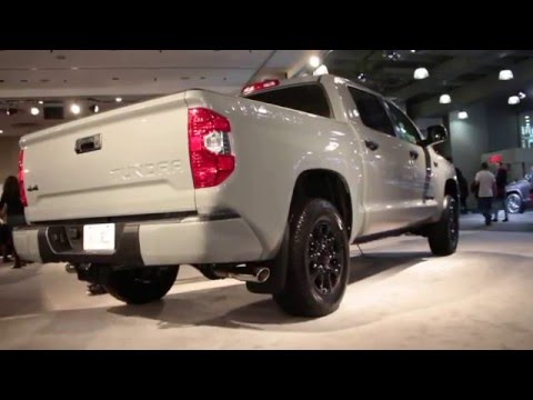 2017 Toyota Tundra TRD Pro Exterior Walkaround - 2016 New York Auto Show